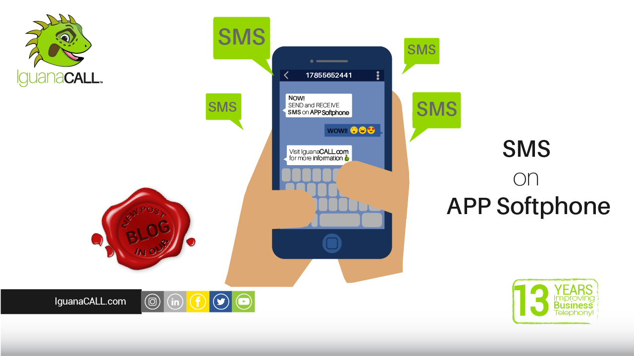 Do you know that you can send SMS with your business number, from your cell phone?